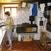 Edith in der Küche