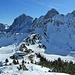 Füssener Jöchl mit Läuferspitze, Gimpel und Kellenspitze