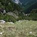 En bas c'est le Val da Mot, c'est de là que nous sommes venus