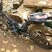 Die modifizierten Motorbikes: Mit stärkerer Kette und grösserem Ritzel am Hinterrad