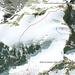 Der Weg durch unsere Rinne von Google Earth aus gesehen