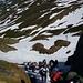 salita per facili nevai alla Capanna Corno Gries