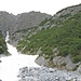 Val Trigl, rechts die überwachsene Steilstufe zum Trigl Grond