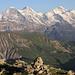 Eiger, Mönch und Jungfrau vom Furggengütsch aus gesehen