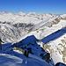 Die Bernerplatte am Horizont vom Chüebodenhorn