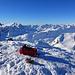 Kein Mensch weit und breit dafür Aussicht, Sonne und Schnee satt!