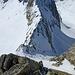 Chris mittlerweile mit etwas mehr Vorsprung erwischt mich beim Aufstieg in den Passo Superiore di Pesciora.