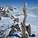 Dalla cima verso la Albert Heim Hutte