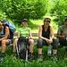 Was für ein zufrieden-erschöpftes Lächeln! Schliesslich haben diese Beine auch 2600 Meter Abstieg hinter sich! ;-)