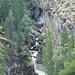 Feeschlucht - Gorge Alpin II gezoomter Blick