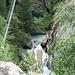 gezoomter Einblick in die Gorge Alpin