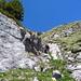 Abstieg vom Loucherhorn durch Südwest-Rinne