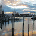 der Lindauer Hafen ist verwaist