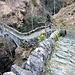 Ponte che attraversa Valle del Salto