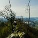 Auf dem Grat oberhalb von Baden