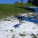 Timi geniesst die ersten Schneefelder