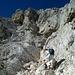 Diese Klettereinlage macht einfach Spaß!