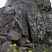 Sur l'arête des Follatères, un fortin militaire qui essaie de se faire passer pour un rocher