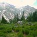 Valle di Magnasca mit Pizzo Malora und Valle di Larecchia mit Pizzo Paràula von Corte di Fondo del Cranzünasc