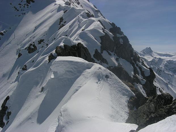 Diese Passage will ohne Ski begangen werden!