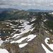 Blick auf den Grat zurück, links unten Chammseeli