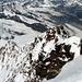 der Normalaustieg auf die Dufourspitze - heute kam hier niemand rauf