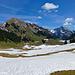 """Impressionen südliche Vorkette: Alp Hintergräppelen mit """"Lütispitz"""""""