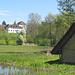 Pfahlbauhaus und Schloss bei Seengen.