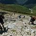 Si scende nel versante italiano del Gridone