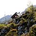 Die Lidernenhütte SAC, heimeliger Ausgangspunkt der Tour