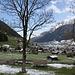 <b>Neustift (994 m) con la spolverata di neve caduta la vigilia di Pasqua.</b>