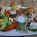 Fiskeplatte im Restaurant Lilleheden Hirtshals - das war lecker!