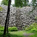 Steintreppe der E3-Führung über den Hunnenwall - einem beeindruckenden, frühzeitlichen Steinwall einer keltischen Wallburg