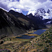 Descente sur la Laguna Jahuacocha (4200m)