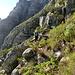 Tourinette in der Querung auf ca. 720 m