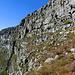 die obere Querung nach links auf 940-960 m