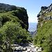 Einstieg von oben in die Platteklip Gorge