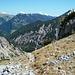 Großartige Landschaft für wenig Höhenmeter: Abstieg vom Wechselkopf in den Rontalboden.