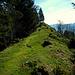 Nicht mehr weit bis zum höchsten Punkt des Hittisberges.