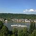 """Schaufelradschiff """"Goethe"""" auf den Weg von Koblenz nach Rüdesheim"""