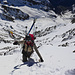 2100m Tiefblick ins grüne La Fouly