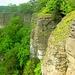 Hohenstein, nach Süden ausgerichtete Wände, bis zu 50 Meter hoch.