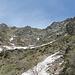 Il Piancascia e il suo versante sud