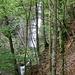 ein mächtiger Wasserfall, leider nur schlecht einsehbar ...