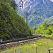 Was aussieht wie eine Nebenbahn ist tatsächlich ein Stück Gotthardbahn
