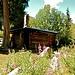 die Hütte des Sirota Camp am Morgen<br /><br /><br />