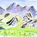 Vue vers l'ouest depuis le Rauflihorn