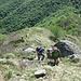 Salendo al Monte Croce