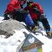 [u Muellix] und ich am Gipfel der Dufourspitze (Foto von Robert)