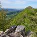 Blick von der vorderen Erlinsburg nach Westen